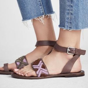 Free people Torrence flat sandals 8